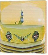 1937 Cord 812 Phaeton Grille Emblems Wood Print