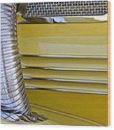 1937 Cord 812 Phaeton Hood Fender Wood Print