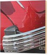 1937 Desoto Chrome Bumper-7249 Wood Print