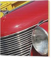 1937 Desoto Front-7262 Wood Print