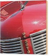 1937 Desoto Front Grill Wood Print