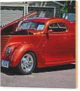 1937 Ford Coupe Wood Print