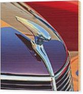 1937 Ford Hood Ornament 2 Wood Print