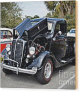 1937 Ford Pick Up Wood Print