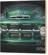 1937 Ford Pick Up Truck Front End Wood Print