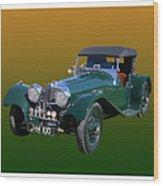 1937 Jaguar S S Onehundred  Wood Print