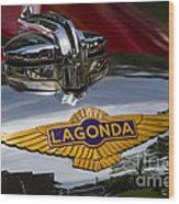 1937 Lagonda Wood Print