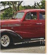 1938 Chevy 4 Door Sedan Wood Print