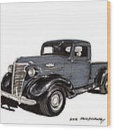 1938 Chevy Pickup Wood Print