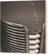 1938 Desoto 4 Door Sedan Wood Print