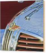 1938 Dodge Ram Hood Ornament 3 Wood Print by Jill Reger