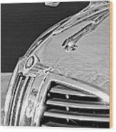 1938 Dodge Ram Hood Ornament 4 Wood Print