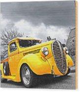 1938 Ford Pickup Wood Print