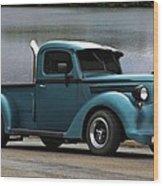 1938 Ford Pickup Truck Hot Rod Wood Print