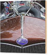 1938 Ford Roadster Wood Print