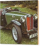 1938 Mg Ta Priced At Only 1550. In 1970.  Wood Print