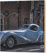 1938 Talbot Lago 150 - C  Teardrop Coupe Wood Print