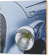 1938 Talbot-lago 150c Ss Figoni And Falaschi Cabriolet Headlight - Emblem Wood Print