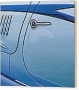 1938 Talbot-lago 150c Ss Figoni And Falaschi Cabriolet Side Door Handle Wood Print