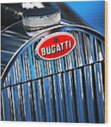 1939 Bugatti Type 57c Wood Print