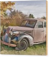 1939 Buick Special Wood Print