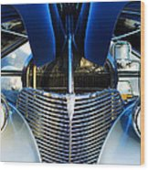 1939 Chevrolet Coupe Grille -115c Wood Print