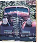 1939 Chevy Immenent Front Original Wood Print