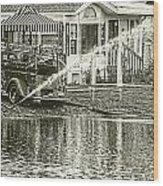 1939 Fire Truck Wood Print
