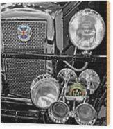 1939 Jaguar S100 Roadster Replica Wood Print