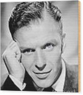 1940 - Frank Sinatra - Blue Eyes Wood Print