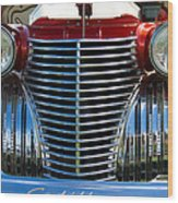 1940 Cadillac Coupe Front View Wood Print