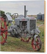 1940 Case Tractor Wood Print