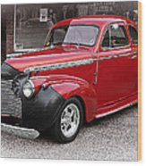 1940 Chevy Coupe Wood Print