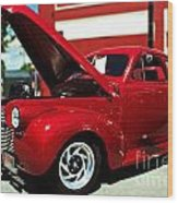 1940 Chevy Wood Print