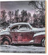 1940 Chevy Wood Print