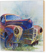 1940 Dodge Wood Print by Andrew King