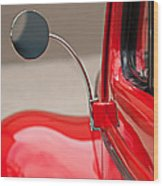 1940 Ford Deluxe Coupe Rear View Mirror Wood Print