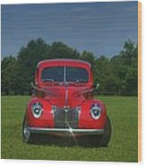 1940 Ford Deluxe  Wood Print