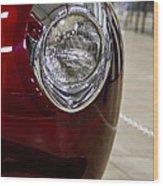 1940 Ford Front Left Light Wood Print