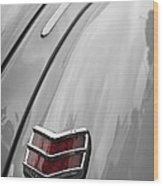1940 Ford Taillight Wood Print