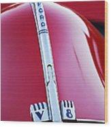 1940 Ford V8 Hood Ornament -323c Wood Print
