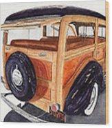 1940 Ford Woody Wood Print