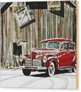 1940 Hudson And Barn Wood Print