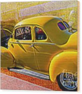 1940 Hudson Wood Print