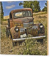 1940's Chevy Truck Wood Print