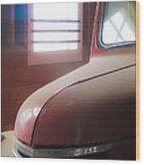 1940s Era Red Chevrolet Truck  Wood Print