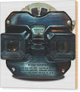 1940's View Master Stereoscopic Viewer Wood Print