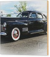 1941 Cadillac Coupe Wood Print by Paul Ward