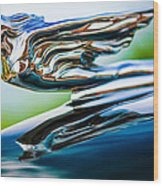 1941 Cadillac Hood Ornament 5 Wood Print