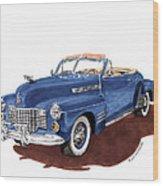1941 Cadillac Series 62 Convertible Wood Print